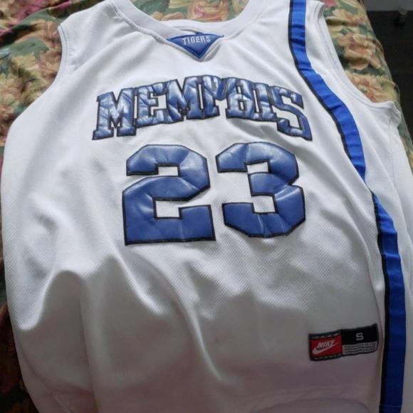 huge discount d22e6 cfbe0 Derrick Rose Memphis Jersey